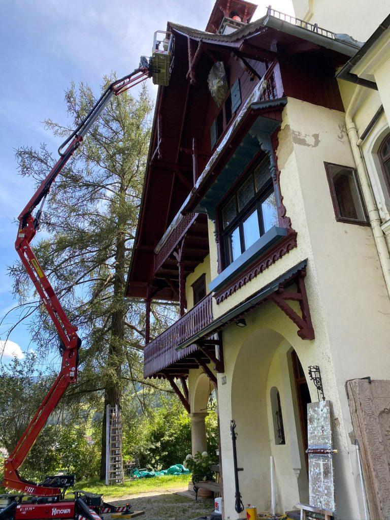 Außengestaltung- Malermeister Naki - Malerbetrieb im Raum Bruck an der Mur - Mürzzuschlag / Malerbetrieb in Hönigsberg
