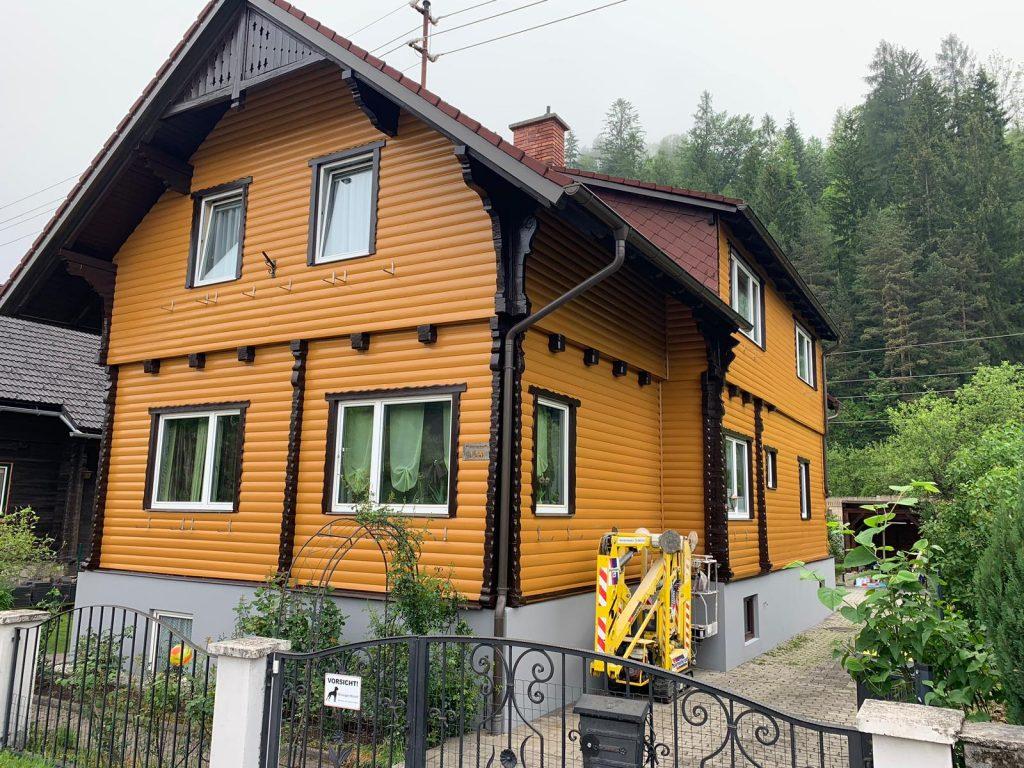 Fassadengestaltung - Malermeister Naki - Malerbetrieb im Raum Bruck an der Mur - Mürzzuschlag / Malerbetrieb in Hönigsberg