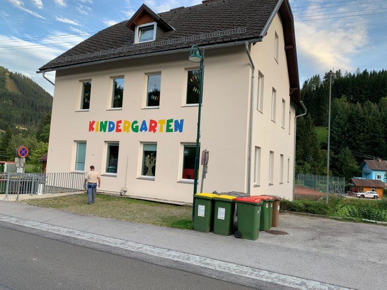 Sanierung Kindergarten - Malermeister Naki - Malerbetrieb im Raum Bruck an der Mur - Mürzzuschlag / Malerbetrieb in Hönigsberg