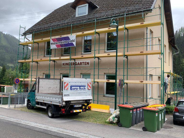 Renovierung Kindergarten - Malermeister Naki - Malerbetrieb im Raum Bruck an der Mur - Mürzzuschlag / Malerbetrieb in Hönigsberg